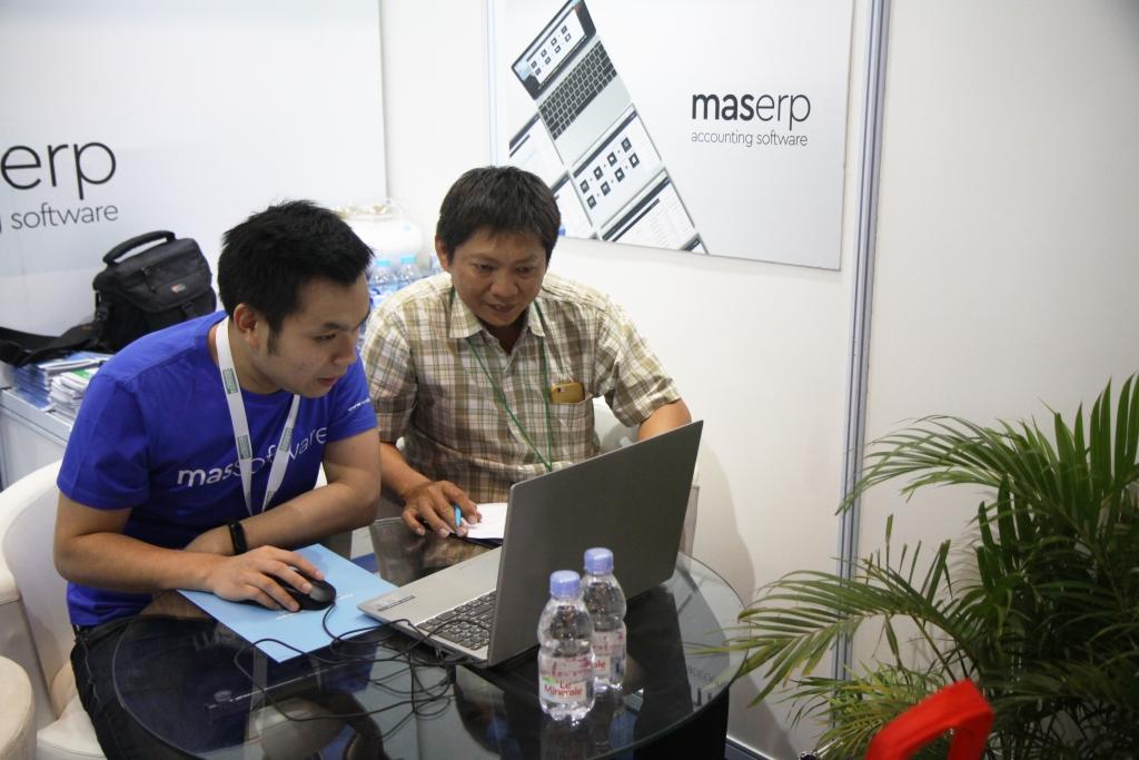 Sesi Konsultasi dengan Direktur MAS Software