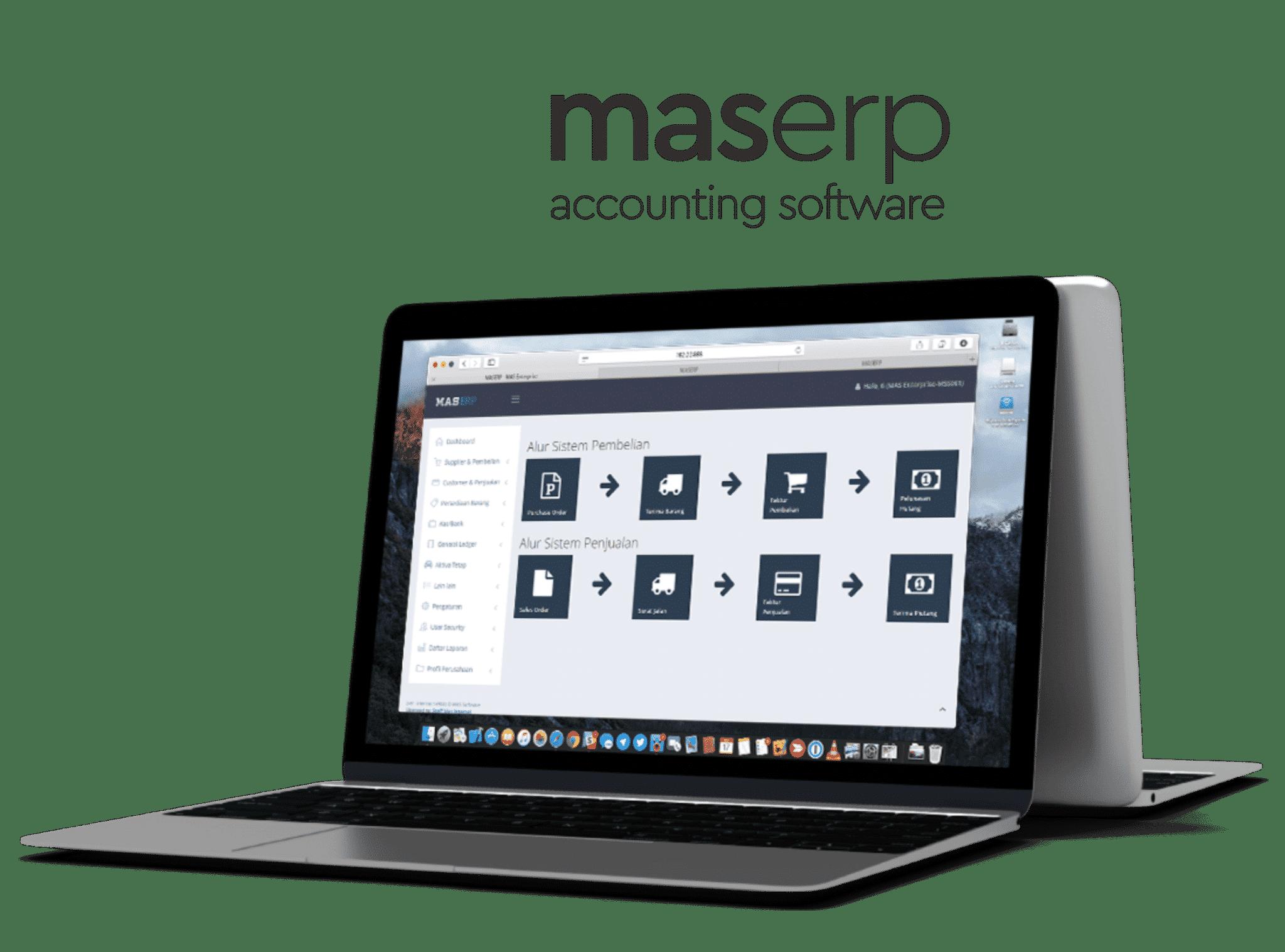MASERP Dashboard