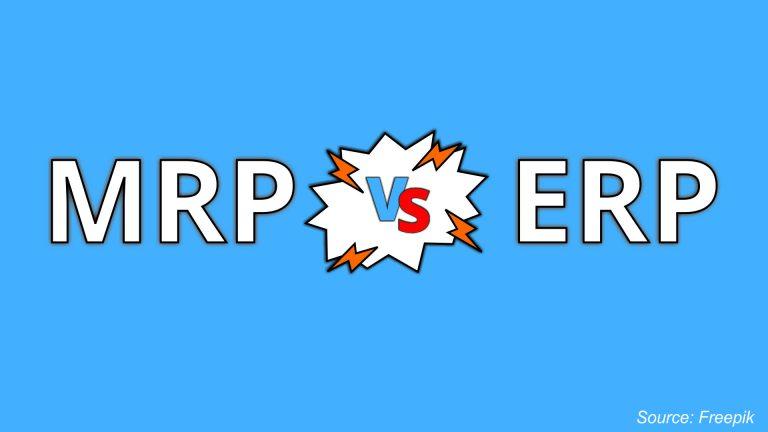 MRP VS ERP