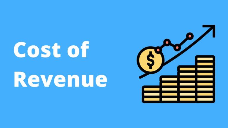 Cost of Revenue adalah