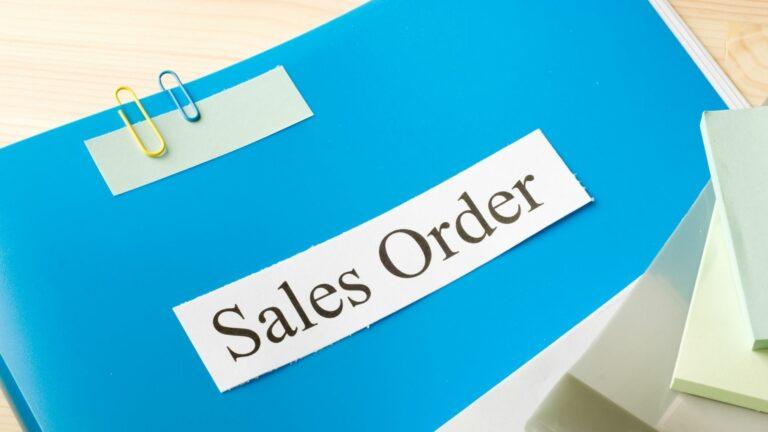 sales order adalah